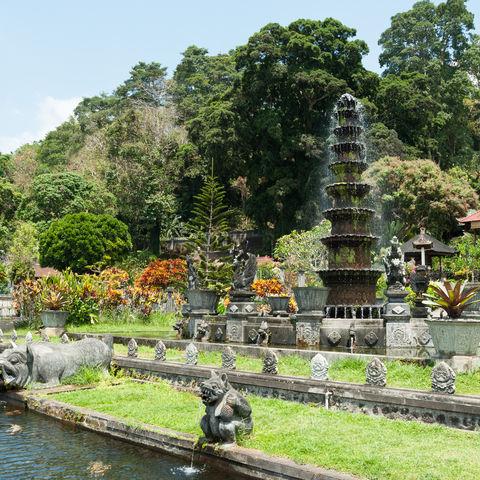 Tirta Gangga - Palast des letzten Königs, Indonesien