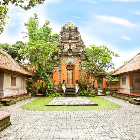 Der Royal Palace in Ubud, Indonesien