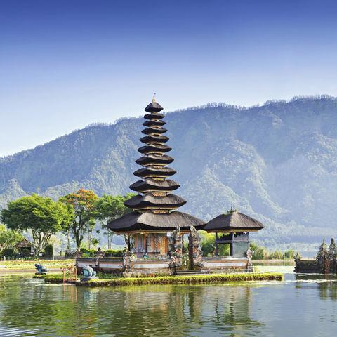 Ulan Danu Tempel auf Bali, Indonesien