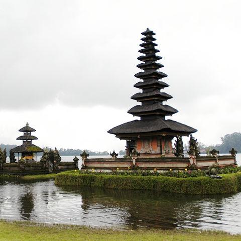 Ulun Danu-Tempel, Indonesien