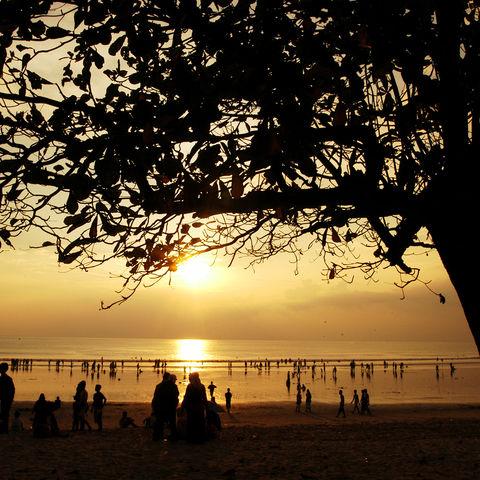 Seminyak-Strand in Kuta, Indonesien
