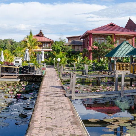 Samosir Insel im Toba See, Sumatra, Indonesien