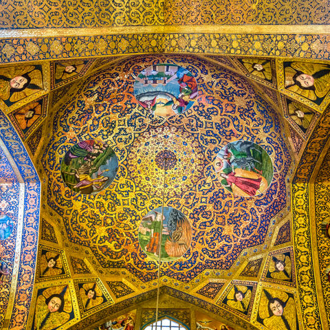 Kuppel der Vank-Kathedrale in Isfahan, Iran