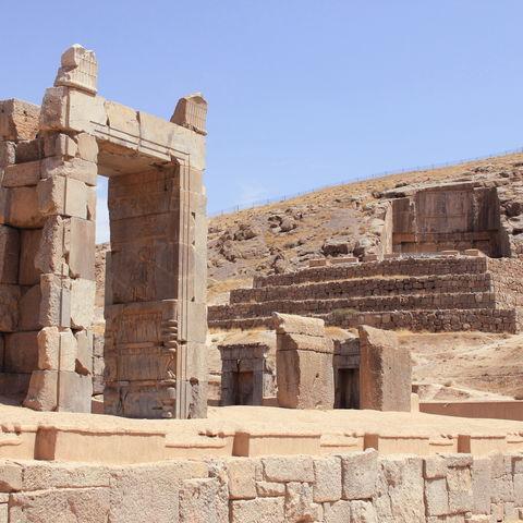 Ruinenstätte des antiken Perserreichs: Persepolis, Iran