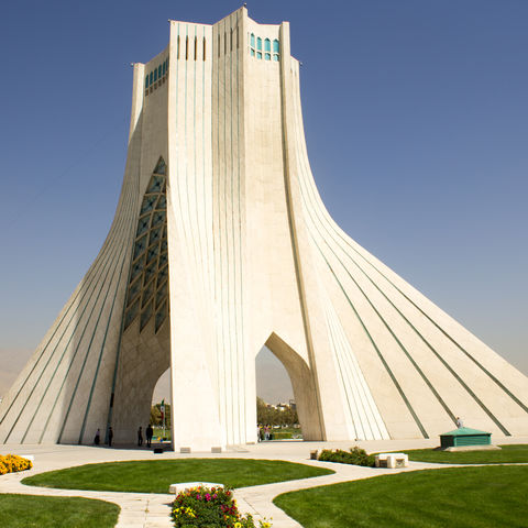 "Die ""Freiheitsstatue"" Teherans: Azadi Turm, Iran"