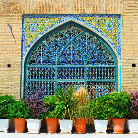 Imam Khomeini Moschee in der Nähe des Großen Basars, Teheran, Iran
