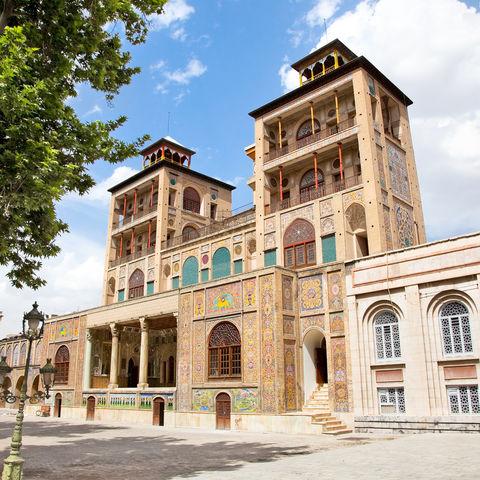 Der Golestan-Palast in Teheran, Iran