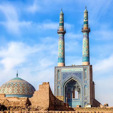 Die Freitagsmoschee von Yazd: Jame Moschee, Iran
