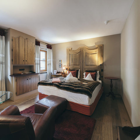 Doppelzimmer im Hotel Engel @NEUE WEGE, Ayurveda