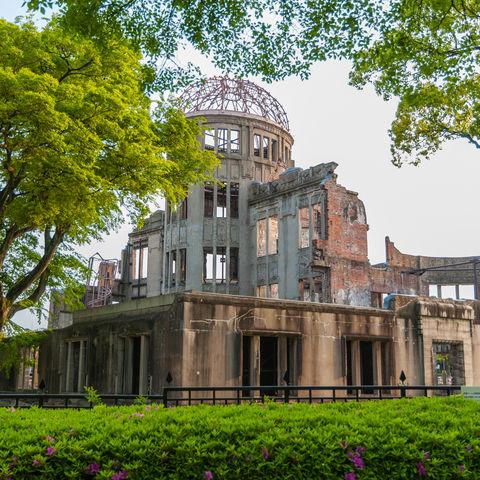 Friedensdenkmal in Hiroshima, Japan