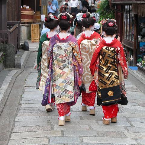 Geisha-Lehrlinge in Kyoto, Japan