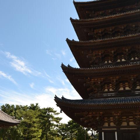 Pagode in Nara, Japan