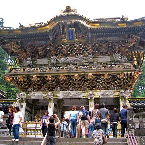 Toshogu Temple in Nikko (UNESCO-Weltnaturerbe), Japan