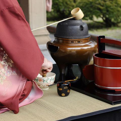 Japanische Teezeremonie, Japan