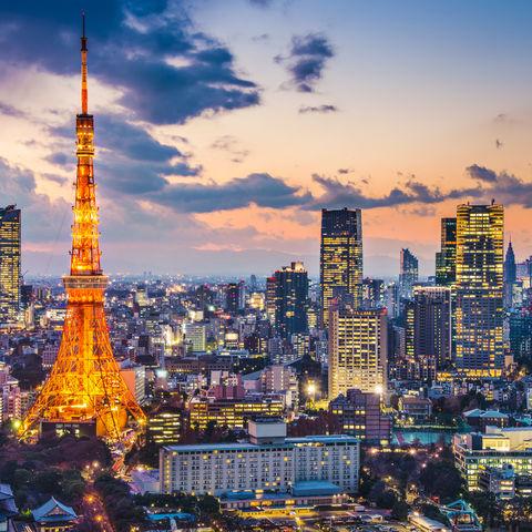 Tokio bei Nacht © Sean Pavone, Dreamstime.com