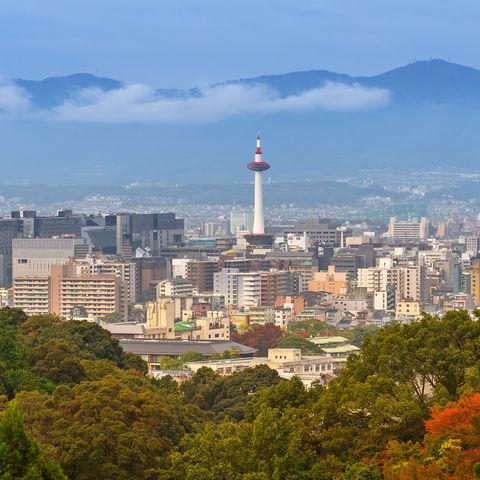 Panorama Tokio, Japan