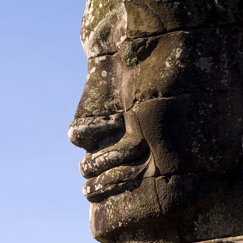 Bayon Tempel in Angkor, Kambodscha