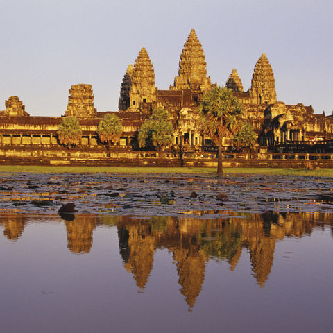 Blick auf Angkor Wat, Kambodscha