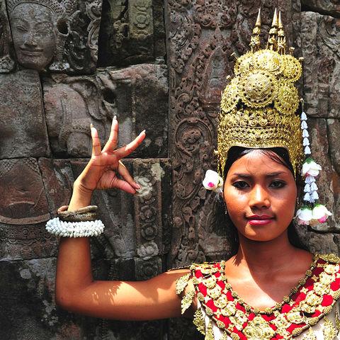 Apsara Tänzerin, Kambodscha