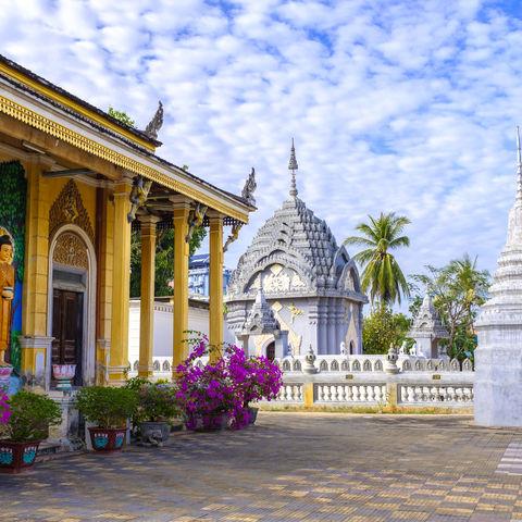 Buddhistischer Tempel, Battambang © Petr Švec, Dreamstime.com