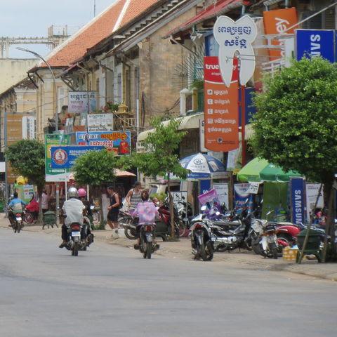 Alltag in Battambang, Kambodscha