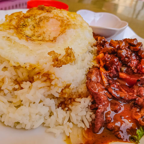Kambodschanische Spezialität: Lok Lak, Kambodscha