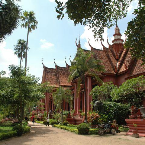 Nationalmuseum in Phnom Penh, Kambodscha