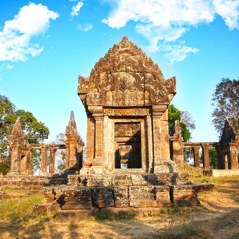 Preah Vihear Tempel, Kambodscha