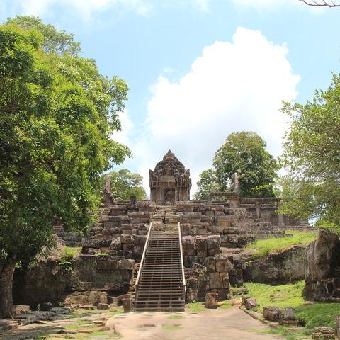 Tempel Preah Vihear in der Provinz Preah Vihear © Andrii Kolinchev, Dreamstime.com