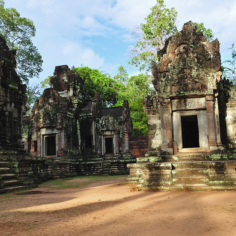 Angkor Chau Say Tevoda Tempel, Kambodscha