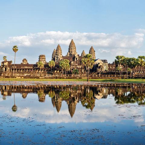 Panorama des Angkor Wats, Kambodscha