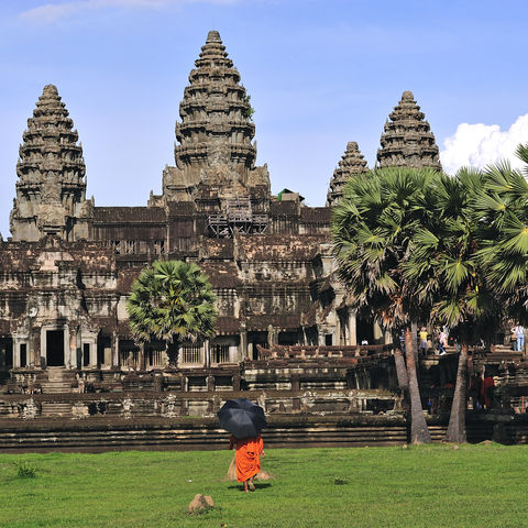 Tempelanlage Angkor Wat, Kambodscha