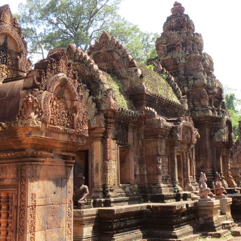 Banteay Srei Tempel, Kambodscha