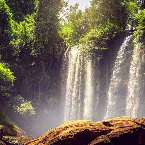 Phnom Kulen Wasserfall, Siem Reap, Kambodscha