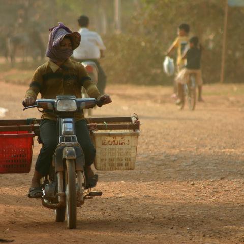 Straßenbild, Kambodscha