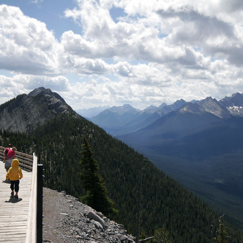 Ausblick vom Sulphur Montain, Kanada