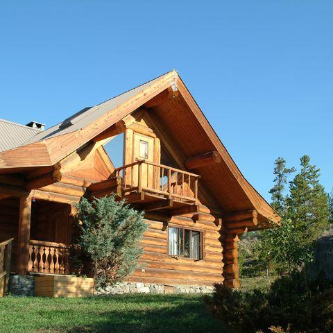 Typische Lodge, Beispielort, Kanada, Kanada
