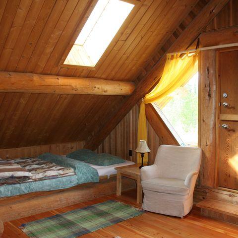 Zimmer in typischer Lodge, Beispielort, Kanada, Kanada