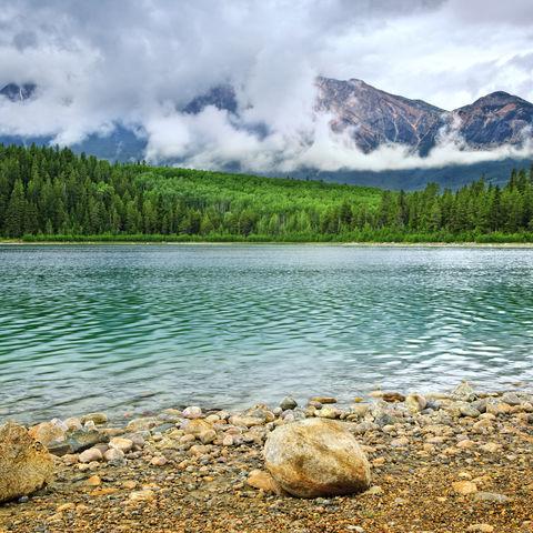 Bergsee im Jasper-Nationalpark, Kanada