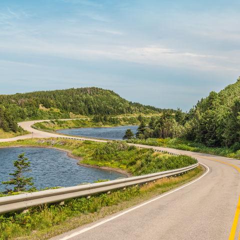 Malerischer Cabot Trail, Kanada