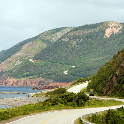 Cabot Trail in Nova Scotia, Kanada
