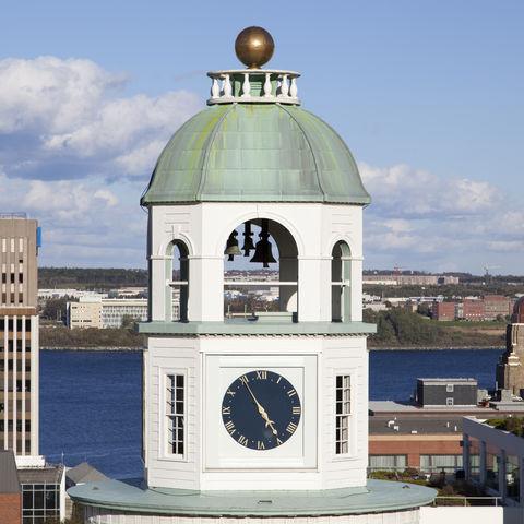 Uhrenturm in Halifax, Kanada