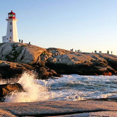 Lechtturm in Nova Scotia, Kanada