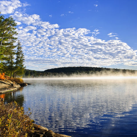 Lake of two Rivers im Algonquin-Park, Kanada