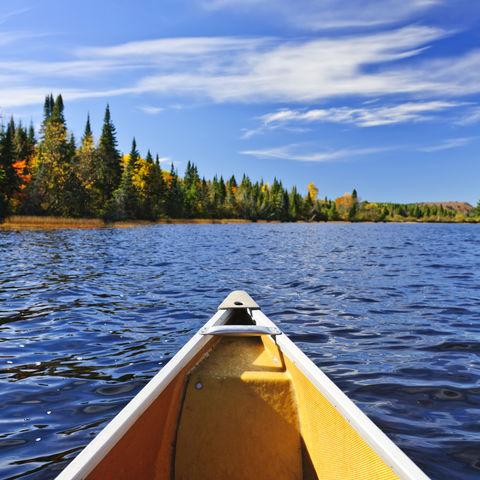 Gemütliche Bootsfahrt, Kanada