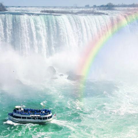 Gewaltiges Naturschauspiel der Niagara-Fälle, Kanada