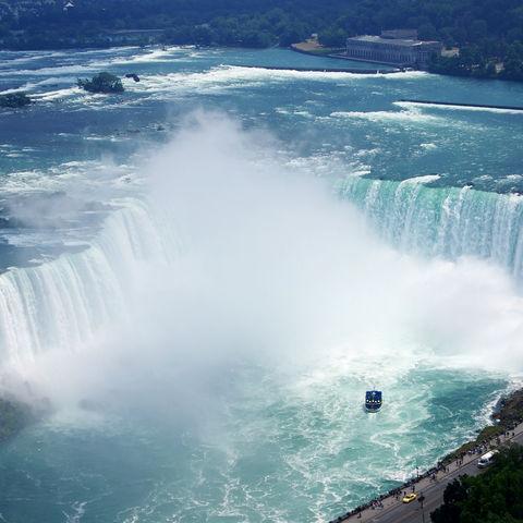 Luftaufnahme der Niagara-Fälle, Kanada