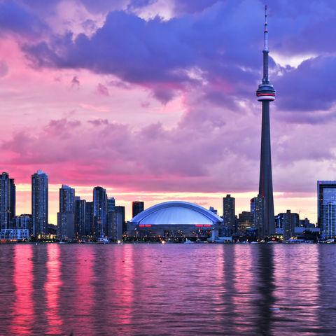 Skyline von Toronto, Kanada