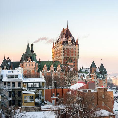 Chateau Frontenac, Kanada