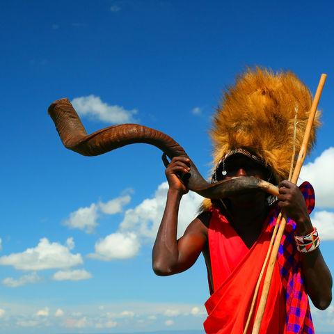 Massai-Krieger, Kenia